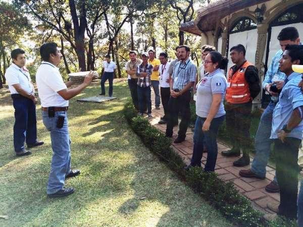 Capacita la Conafor a brigadistas de Guatemala