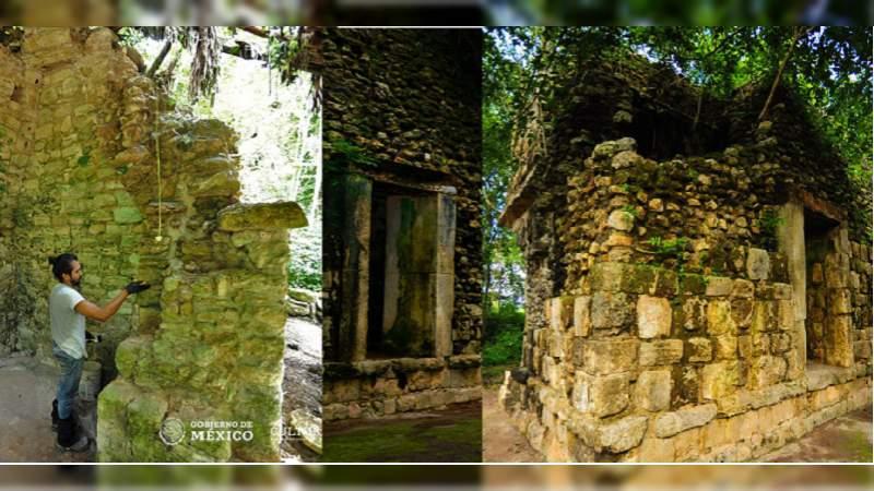 INAH descubre palacio maya en la zona arqueológica de Kulubá, Yucatán