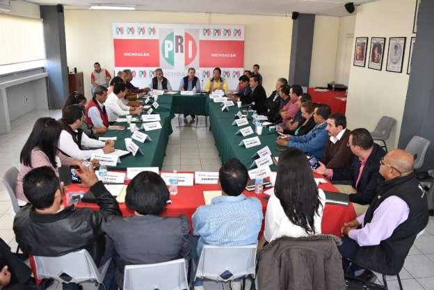 PRI trabaja en reorganización de su estructura partidista