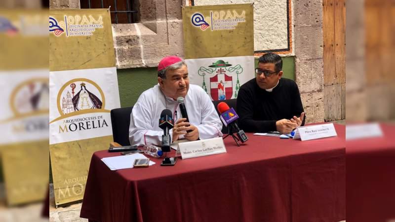 Mensaje de año nuevo 2020 de la arquidiócesis de Morelia