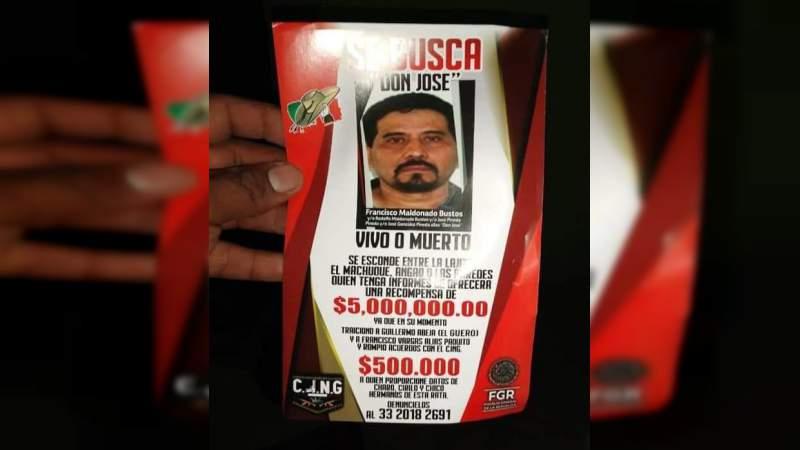 "Desde avioneta, CJNG lanza volantes en San Lucas: Recompensa de 5 millones por ""Don José"""
