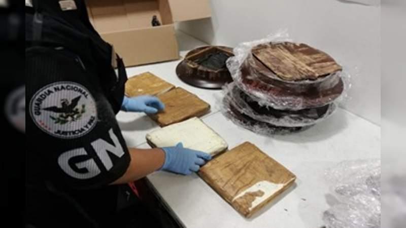 Aseguran en la CDMX 3 toneladas de metanfetamina con destino a Nueva Zelanda