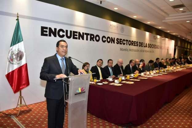 El Manifiesto del Pueblo Michoacano, para mejorar las fórmulas de convivencia: Adrián López Solís
