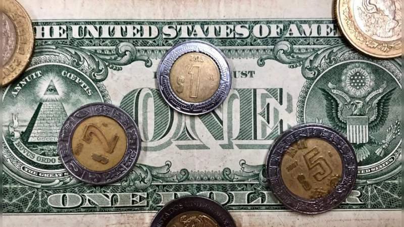 En el primer año de AMLO, peso se apareció 3.86% frente al dólar