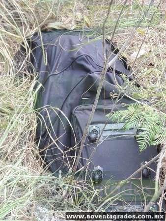 Hallan cadáver en maleta en Uruapan, Michoacán