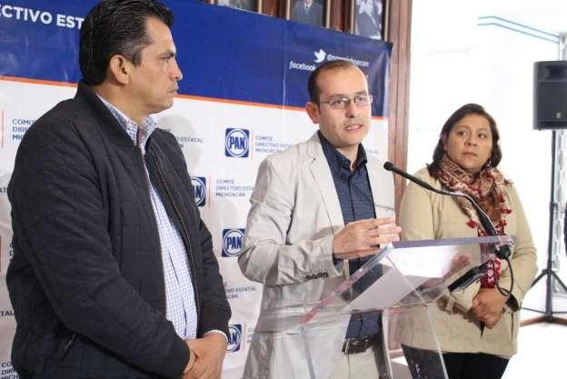 Busca PAN implementación de una policía mixta en Michoacán