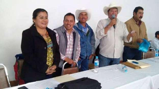 Se reúne diputada Belinda Iturbide con campesinos michoacanos para analizar afectaciones por heladas