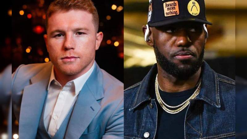 Canelo presume regalo que le envió LeBron James