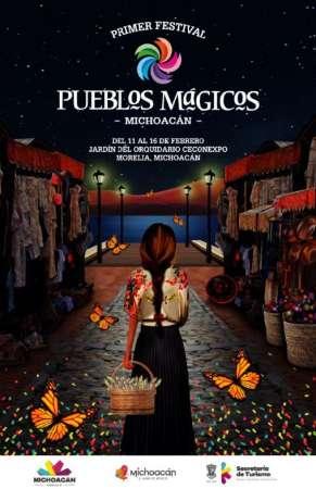 Este jueves arranca el Primer Festival de Pueblos Mágicos de Michoacán