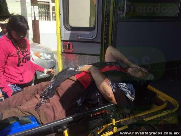 Camión atropella a mujer de la tercera edad en Zamora, Michoacán