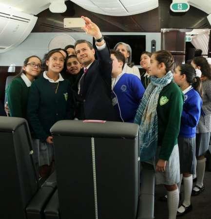 Avión no es propiedad del Presidente de la República, subraya Peña Nieto