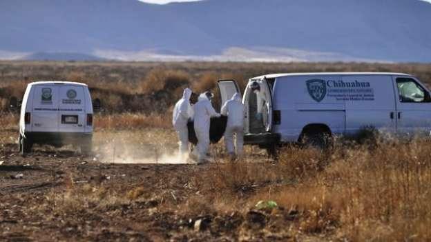 Localizan cuatro cuerpos en fosa clandestina, en Chihuahua