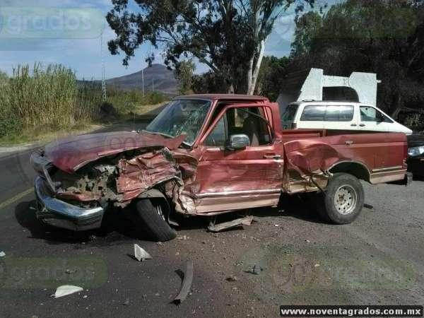 Muere adolescente tras choque en Panindícuaro, Michoacán