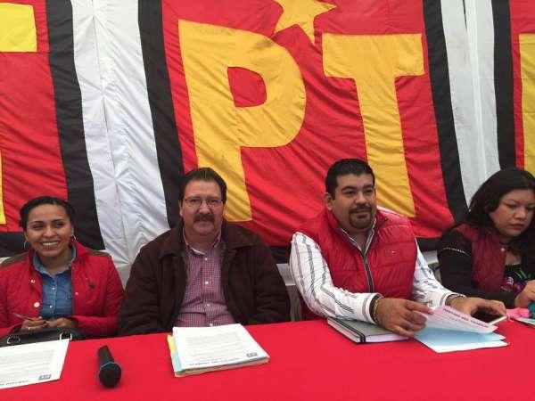 Apoya Comisión Coordinadora Petista, liderazgo de Reginaldo Sandoval