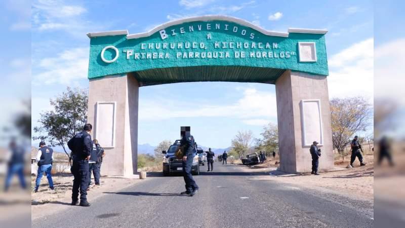 A una semana de su secuestro, sin pista de los cuatro policías levantados en Churumuco por el CJNG
