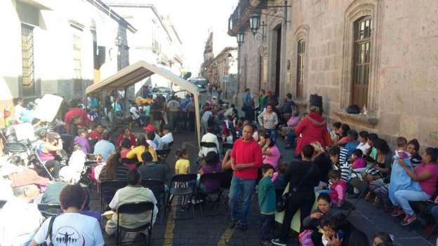 Ineficacias del Ayuntamiento de Morelia causan protestas: Antorcha Campesina