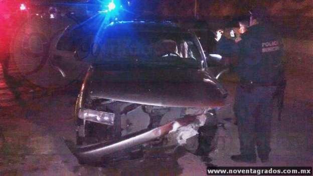 Lesionado asaltante de gasolinera tras enfrentarse a la autoridad en Parácuaro, Michoacán