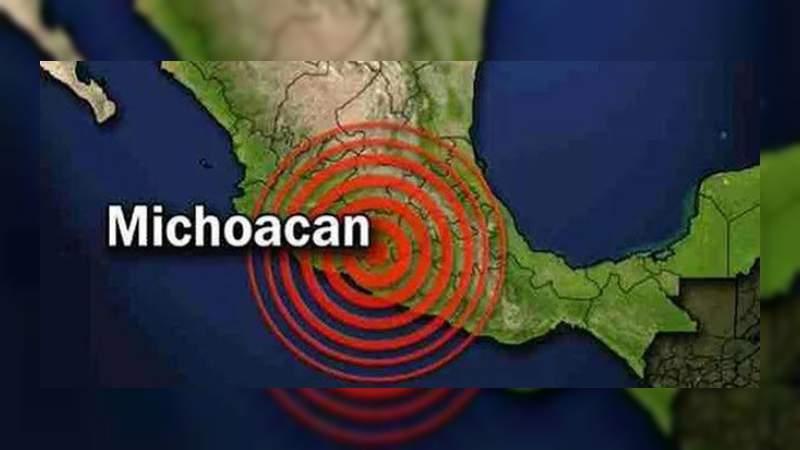 Una serie de sismos sacuden Michoacán este martes