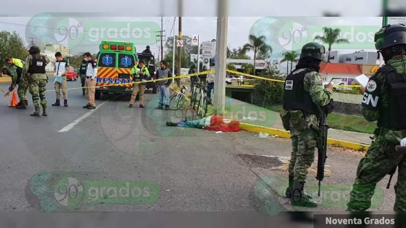 En las primeras tres semanas de 2020, 126 asesinatos en Michoacán: 14 mujeres, 3 policías y 2 niños, las víctimas