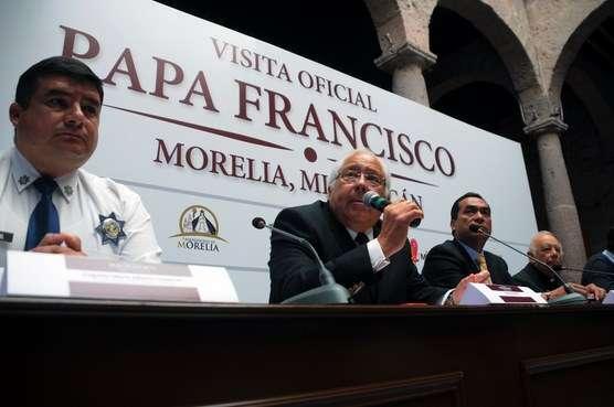 Protección Civil Michoacán desplegará operativo estratégico para la visita del Papa Francisco
