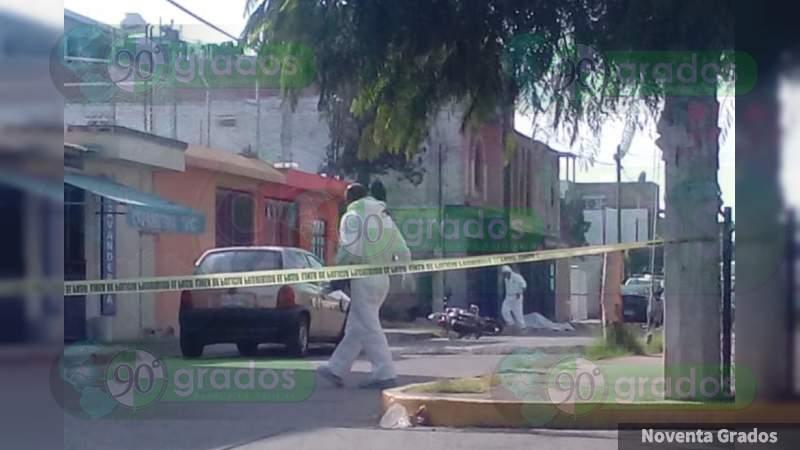 Persiguen y matan a Policía Municipal en Celaya, Guanajuato