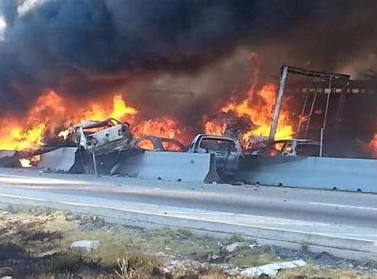 Accidente en carretera Puebla–Orizaba habría dejado 15 muertos y 30 heridos