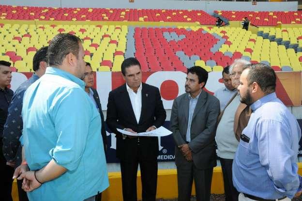 Michoacán está listo para recibir al Papa Francisco: Silvano Aureoles