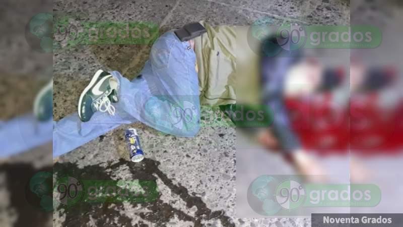 Asesinan a veinteañero en el centro de Sahuayo