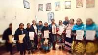Entrega IEM nombramientos a integrantes de consejo comunal indígena de Arantepacua