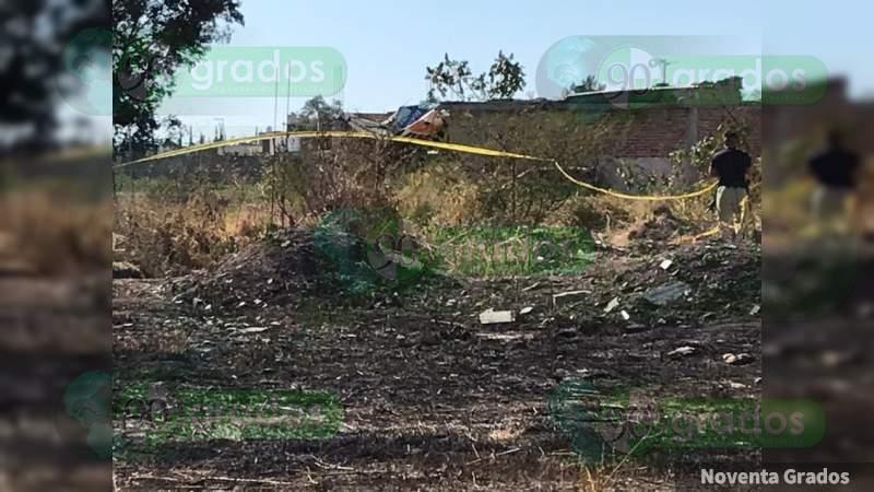 Localizan a tres ejecutados en diferentes puntos de Celaya, Guanajuato