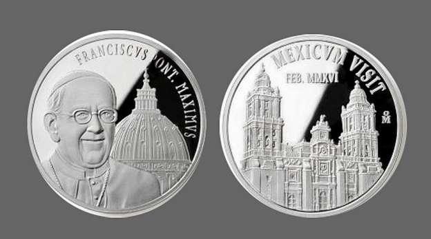 Cardenal Rivera entregará medalla conmemorativa al Papa Francisco