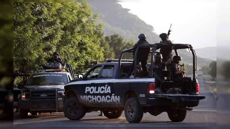 Reportan presunto enfrentamiento en Salvador Escalante, se desconoce el saldo