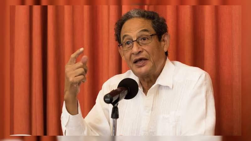 El periodista Sergio Aguayo paga fianza de 450 mil pesos por demanda de Humberto Moreira