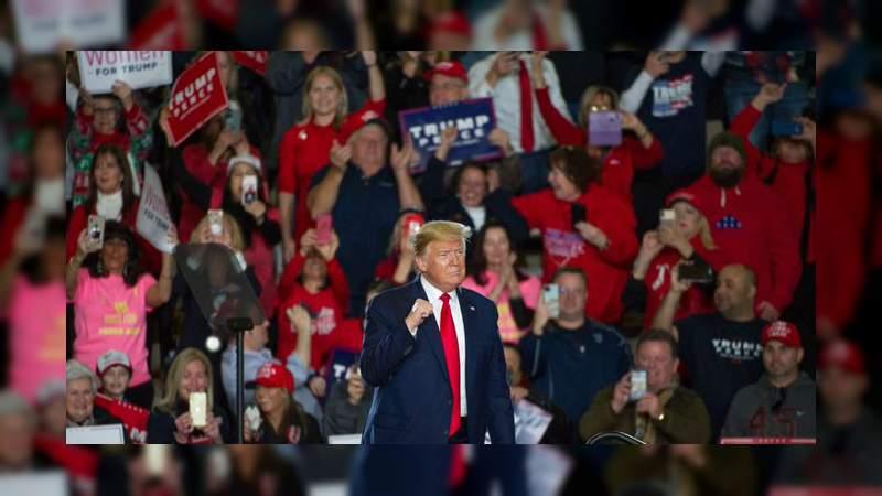 """""""México está pagando por el muro"""", asegura Donald Trump en mitin"""