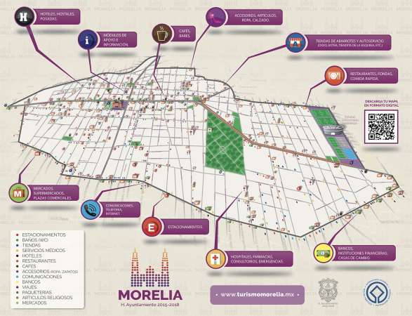 Morelia, lista para recibir a feligreses