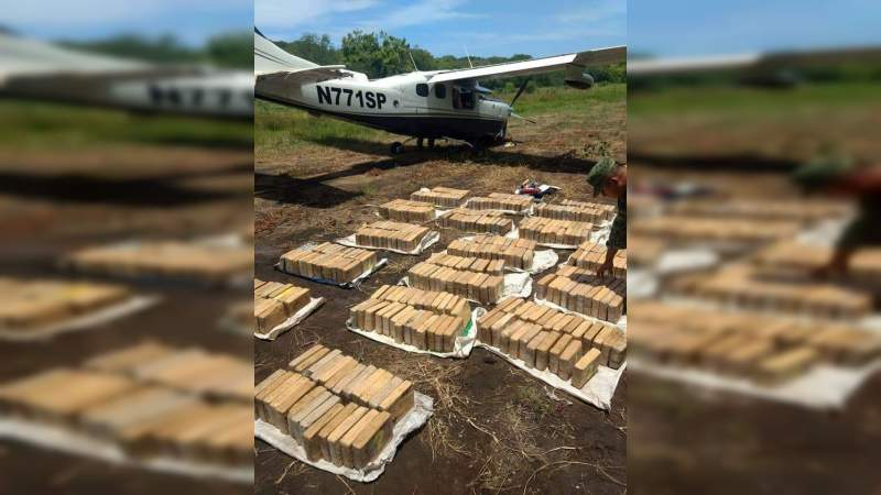 México incautó un jet privado de Argentina con una tonelada de cocaína