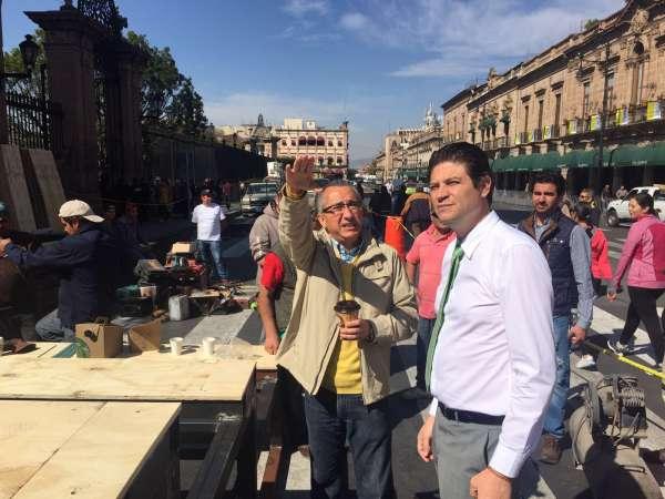 Morelia será el mejor anfitrión durante la visita del Papa: Alcalde