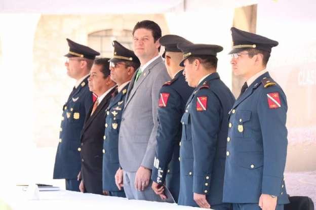 Alfonso Martínez da bienvenida a Soldados del Servicio Militar