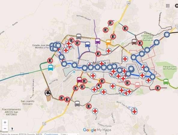 Este domingo, cierre parcial de calles por simulacro del recorrido del Papa Francisco