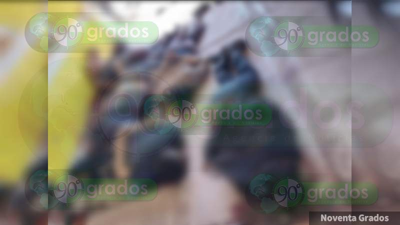 Deja ocho muertos balacera entre grupos rivales en Huetamo