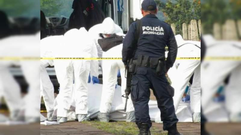 Hallan fosa clandestina con 10 cuerpos en Coeneo, Michoacán