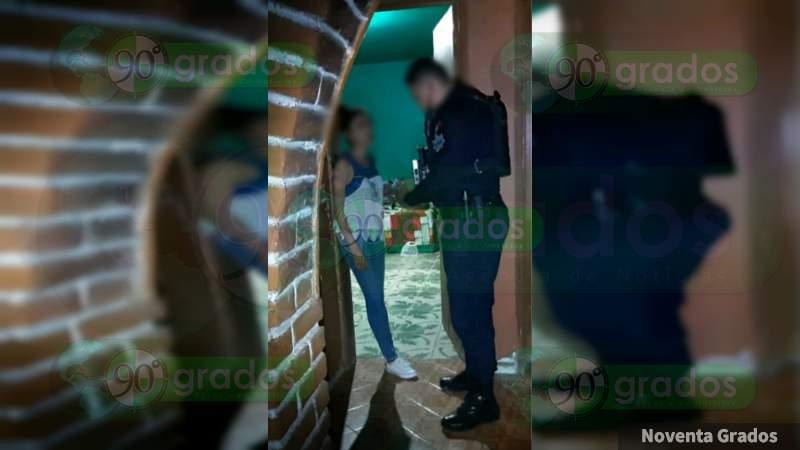 Rescatan a una mujer y su bebé, víctimas de secuestro virtual, en Jacona
