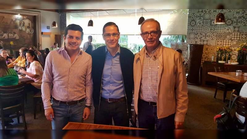 Miguel Ángel Villegas y 'Chavo' López; encuentran coincidencias por Morelia