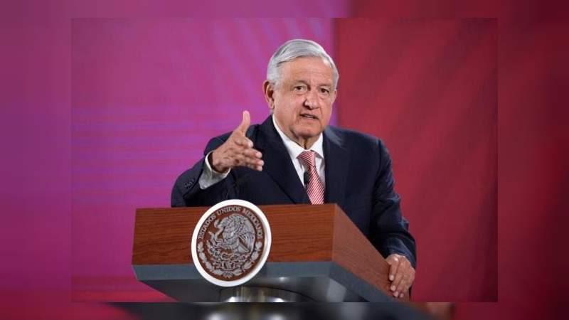 Mi gobierno no interpuso una denuncia contra Peña Nieto: AMLO