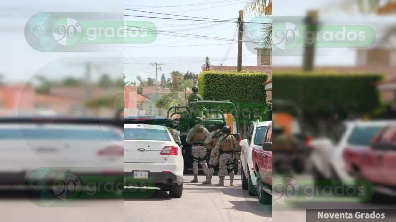 Enfrentamiento entre delincuentes y ministeriales en Celaya, deja un agente herido