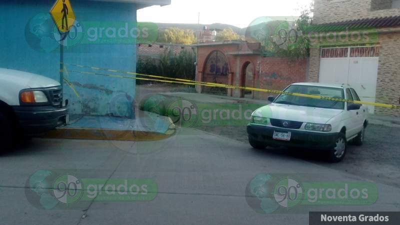 Asesinan a un hombre en Apaseo el Alto; hay un herido