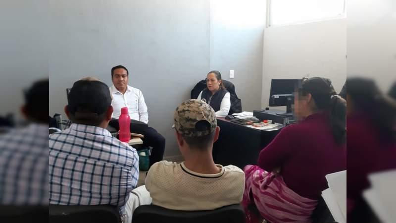 Promueve FGE uso de Mecanismos Alternativos, en Uruapan