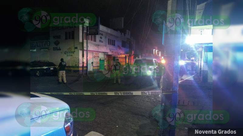 Ejecutan a dos hombres en Morelia, Michoacán, uno era discapacitado