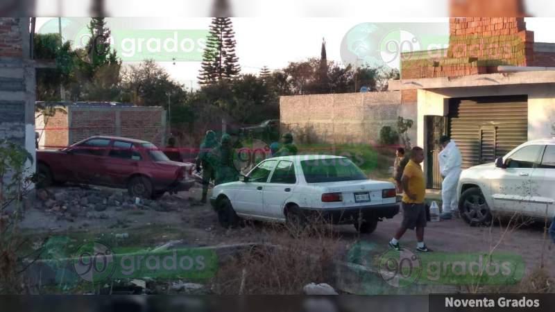 Ministeriales repelen ataque armado y hieren a atacante, en Irapuato, Guanajuato