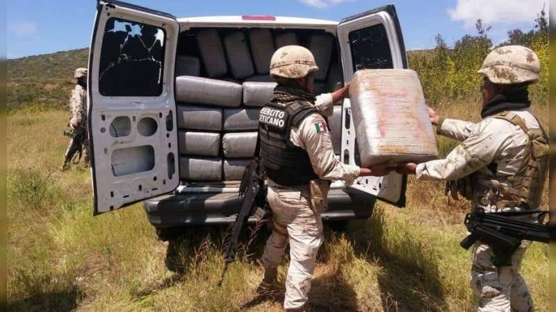 Asegura Ejército más de tonelada y media de marihuana en Jilotlán, Jalisco